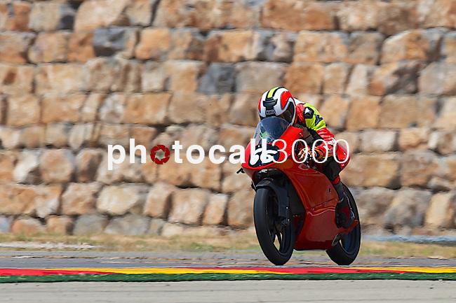 CEV Repsol en Motorland / Aragón <br /> a 07/06/2014 <br /> En la foto :<br /> Moto3<br /> levy<br />RM/PHOTOCALL3000