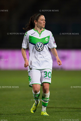 Elise Bussaglia (Wolfsburg), MARCH 30, 2016 - Football / Soccer : UEFA Women's Champions League Quarter-final 2nd leg match between ACF Brescia 0-3 VfL Wolfsburg at Stadio Mario Rigamonti in Brescia, Italy. (Photo by Maurizio Borsari/AFLO)