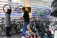 Common Assault Bike Shop ..Ringwood, Hampshire   May 2009..pic copyright Steve Behr / Stockfile
