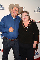 """LOS ANGELES - SEP 26:  Cliff Hogg III, Sharon Hogg at the """"Big Brother"""" 21 Finale Party at the Edison on September 26, 2019 in Los Angeles, CA"""