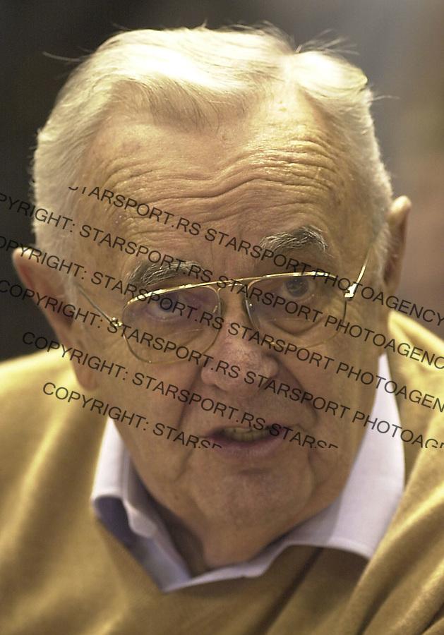 SPORT KOSARKA PARTIZAN CIBONA EVROLIGA EUROLEAGUE  Bora Stankovic 15.12.2004. foto: Pedja Milosavljevic
