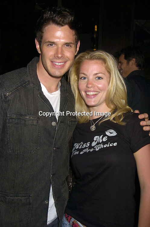 Josh Casaubon and  Bree Williamson  ..at a benefit for The Gabriel Project at Prohibition on ..June 11, 2005 in New York City. The Gabriel Project ..brings children from Africa who have heart problems..and gets them surgery in America. ..Photo by Robin Platzer, Twin Images..