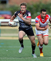Ben Hellewell in action for London during the Kingstone Press Championship game between London Broncos and Sheffield Eagles at Ealing Trailfinders, Ealing, on Sun July 9,2016