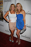"HOLLYWOOD, CA. - June 23: Luann Lee and Alana Curry arrive at Broadway LA Presents: ""In The Heights"" - Opening Night at the Pantages Theatre on June 23, 2010 in Hollywood, California.."