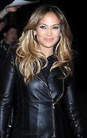 "Jennifer Lopez slips into a sexy leather outfit to promote her new movie "" Parker "" - New York"