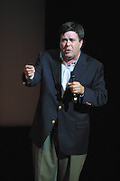 Comedian Kevin Meany performed at The Gerry Red Wilson Found. Comedy Benefit to raise awareness for Spiral Meningitis at the Town Hall in New York City on June 11, 2002 as part of the Toyota Comedy Series.<br /> photo by Jen Lombardo/PictureGroup