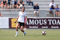 Cary, North Carolina  - Saturday July 01, 2017: Kelley O'Hara during a regular season National Women's Soccer League (NWSL) match between the North Carolina Courage and the Sky Blue FC at Sahlen's Stadium at WakeMed Soccer Park. Sky Blue FC won the game 1-0.