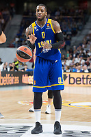 Khimki Moscow Thomas Robinson during Turkish Airlines Euroleague match between Real Madrid and Khimki Moscow at Wizink Center in Madrid, Spain. November 02, 2017. (ALTERPHOTOS/Borja B.Hojas) /NortePhoto.com