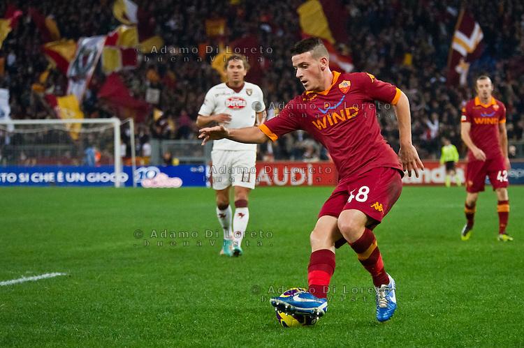ROMA (RM) 19/11/2012: SERIE A TREDICESIMA GIORNATA ROMA - TORINO. INCONTRO VINTO DALLA ROMA PER 2 A 0. NELLA FOTO FLORENZI ROMA  FOTO ADAMO DI LORETO/