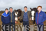 Emily O'Callaghan, Pat O'Callaghan, Billy O'Connell, Paraic O'Callaghanat the Abbeydorney Ploughing Match on Sunday