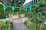 '500 Years of Covent Garden' The Sir Simon Milton Foundation Garden in partnership with Capco. Designed by: Lee Bestall. Sponsored by: Capital & Counties Properties PLC. RHS Chelsea Flower Show 2017. Stand no. Show Garden 326
