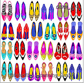 Kate, GIFT WRAPS, GESCHENKPAPIER, PAPEL DE REGALO, paintings+++++Feminine page 13,GBKM278,#gp#, EVERYDAY,shoes ,sticker,stickers
