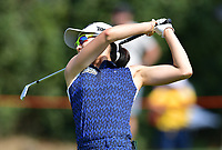 PATTAYA, THAILAND - FEBRUARY 22: Jennifer Song of USA 2nd shot on the 17th fairway during the second round of the Honda LPGA Thailand 2019 at Siam Country Club Pattaya (Old Course), Pattaya, Thailand on February 22, 2019.<br /> .<br /> .<br /> .<br /> (Photo by: Naratip Golf Srisupab/SEALs Sports Images)<br /> .<br /> Any image use must include a mandatory credit line adjacent to the content which should read: Naratip Golf Srisupab/SEALs Sports Images