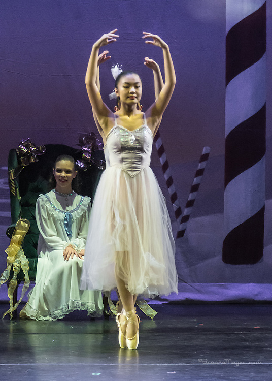 Cary Ballet, Visions Of Sugarplums, Dress Rehearsal, Cary Arts Center, Cary, North Carolina, 13 Dec 2012