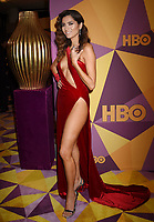 BEVERLY HILLS, CA - JANUARY 07: Actress Blanca Blanco arrives at HBO's Official Golden Globe Awards After Party at Circa 55 Restaurant in the Beverly Hilton Hotel on January 7, 2018 in Los Angeles, California.
