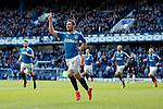 Nicky Clark celebrates his opener for Rangers