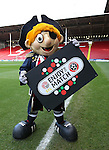 Captain Blades with message during the English League One match at the Bramall Lane Stadium, Sheffield. Picture date: November 19th, 2016. Pic Simon Bellis/Sportimage