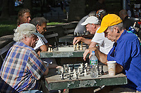 Chess Players - Washington Square Park, New York City