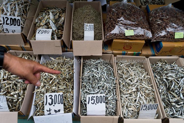 9/2/2013--Busan, South Korea<br /> <br /> Jagalchi Fish Market in Busan (Pusan).<br /> <br /> Photograph by Stuart Isett<br /> &copy;2013 Stuart Isett. All rights reserved.