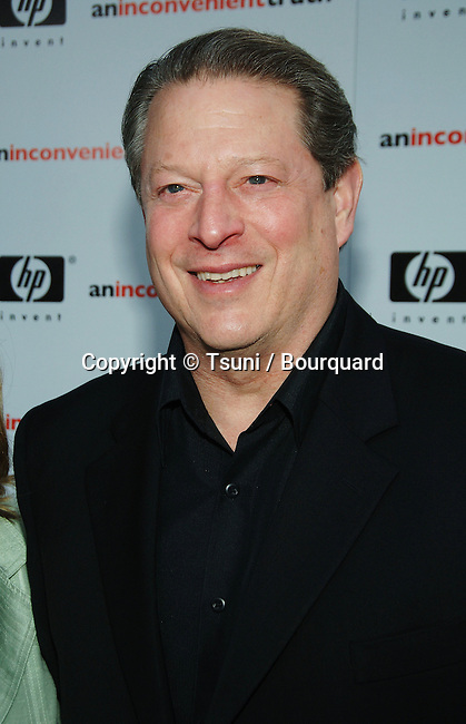 "Al Gore arriving at "" AN INCONVENIENT TRUTH Premiere "" at the DGA in Los Angeles. May 16, 2006."