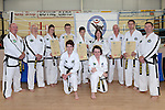 All the Black Belt Members of the Drogheda Taekwando school. Photo: Colin Bell/ pressphotos.ie