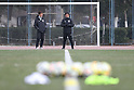 Soccer: Japan training session ahead of the AFC U23 Championship