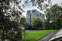 RCA Kensington from Kensington Gardens