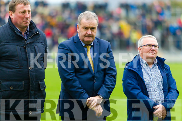 Willie Maher: The 1992 Mid Kerry team honoured at half time of the Senior County Football Final in Austin Stack Park on Sunday