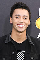 SANTA MONICA, CA, USA - FEBRUARY 15: Nyjah Huston at the 4th Annual Cartoon Network Hall Of Game Awards held at Barker Hangar on February 15, 2014 in Santa Monica, California, United States. (Photo by David Acosta/Celebrity Monitor)