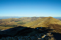 Capelaw, Caerketton, Allermuir Hill, Castle Law, Turnhouse Hill and Glencorse from Carnethy Hill, The Pentland Hills, Lothian<br /> <br /> Copyright www.scottishhorizons.co.uk/Keith Fergus 2011 All Rights Reserved