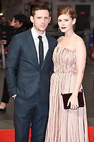 Jamie Bell &amp; Kate Mara at the London Film Festival 2017 screening of &quot;Film Stars Don't Die in Liverpool&quot; at Odeon Leicester Square, London, UK. <br /> 11 October  2017<br /> Picture: Steve Vas/Featureflash/SilverHub 0208 004 5359 sales@silverhubmedia.com