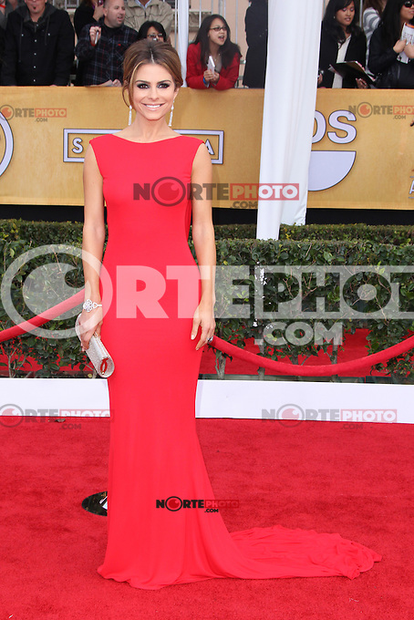 LOS ANGELES, CA - JANUARY 27: Maria Menuonos at The 19th Annual Screen Actors Guild Awards at the Los Angeles Shrine Exposition Center in Los Angeles, California. January 27, 2013. Credit: MediaPunch Inc.