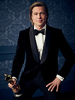 Oscar® winner Brad Pitt during the 92nd Oscars® on Sunday, February 9, 2020 at the Dolby Theatre® in Hollywood, CA, televised live by the ABC Television Network.<br /> *Editorial Use Only*<br /> CAP/AMPAS<br /> Supplied by Capital Pictures