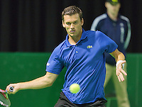 10-02-13, Tennis, Rotterdam, qualification ABNAMROWTT,  Ernest Gulbis