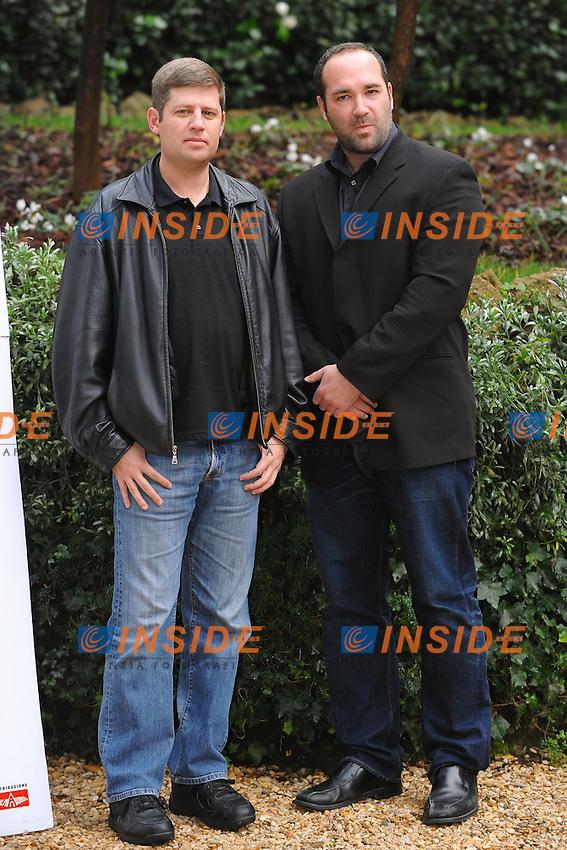Orin Peli, Film Director, Steven Schneider, Producer..Paranormal Activity - Photocall.Roma 29/1/2010 Hotel St. Regis.Foto Andrea Staccioli Insidefoto