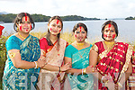 Shule Roy Killarney, Rakhi Mukerjwee Bantry, Shika Bhowmik Tralee and Seema Ghosh Killarney    at the Kerry Hindu celebrations in Ross Castle on Sunday