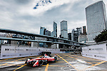 Nick Heidfeld of Mahindra Racing team during the first race of the FIA Formula E Championship 2016-17 season HKT Hong Kong ePrix at the Central Harbourfront Circuit on 9 October 2016, in Hong Kong, China. Photo by Victor Fraile / Power Sport Images