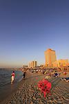 Israel, Tel Aviv beach