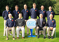 The Clandeboye team during for the AIG Cups &amp; Shields Finals in Royal Tara Golf Club on Wednesday 18th September 2013.<br /> Picture:  Thos Caffrey / www.golffile.ie