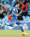 Getafe's Juan Rodriguez during La Liga match. February 14,2016. (ALTERPHOTOS/Acero)