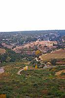 Minerve village Minervois. Languedoc. France. Europe.