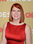 HOLLYWOOD, CA. - November 21: Kate Flannery attends the 2009 CNN Heroes Awards held at The Kodak Theatre on November 21, 2009 in Hollywood, California.