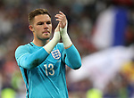 England's Jack Butland looks on dejected during the Friendly match at Stade De France Stadium, Paris Picture date 13th June 2017. Picture credit should read: David Klein/Sportimage