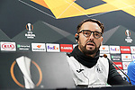 Getafe's coach Jose Bordalas in press conference after training session. February 19,2020.(ALTERPHOTOS/Acero)
