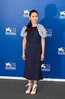 Hong Chau at the Downsizing photocall, 74th Venice Film Festival in Italy on 30 August 2017.<br /> <br /> Photo: Kristina Afanasyeva/Featureflash/SilverHub<br /> 0208 004 5359<br /> sales@silverhubmedia.com