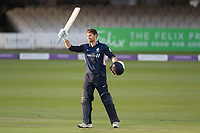 James Harris of Middlesex CCC acknowledges his maiden one day century during Middlesex vs Lancashire, Royal London One-Day Cup Cricket at Lord's Cricket Ground on 10th May 2019