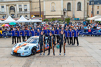 #86 GULF RACING (GBR) PORSCHE 911 RSR GTE AM MICHAEL WAINWRIGHT (GBR) BENJAMIN BARKER (GBR) ALEXANDER DAVISON (AUS)