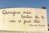Romagna mia, rotatoria a Cesenatico dedicata alla canzone di Secondo Casadei