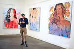 SANTA MONICA - JUN 25: Lloyd Harvey at the David Bromley LA Women Art Exhibition opening reception at the Andrew Weiss Gallery on June 25, 2016 in Santa Monica, California