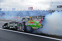 Jun. 1, 2012; Englishtown, NJ, USA: NHRA funny car driver Bob Bode during qualifying for the Supernationals at Raceway Park. Mandatory Credit: Mark J. Rebilas-